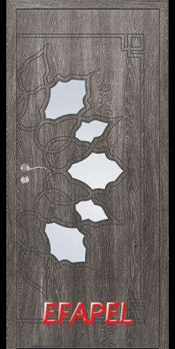 Интериорна врата Efapel 4539 Сив ясен