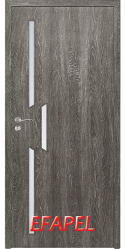 Интериорна врата Efapel 4568 Сив Ясен
